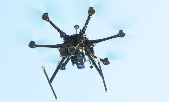 Drone Invades the New York Public Library