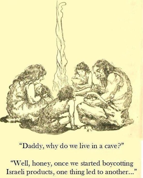 Daddy, why do we live in a cave?