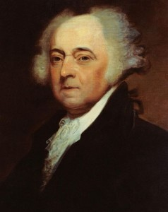 John Adams admired the Hebrews