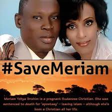 Sudan's Islamic Sharia Law Condemns to Death Pregnant Christian Mother  ( see update below )