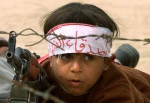 Palestinian Child Soldier! AP Photo/Charles Dharapak