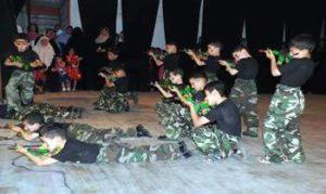 Palestinian Children Terrorist Training Camp! Source: Israel Hayom