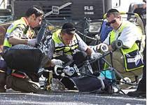 Suicide Bomb Kills 18, Infants Among Dead, Over 80 Hurt In Jerusalem Sbarro Blast! ©2001 Reuters/Natalie Behring