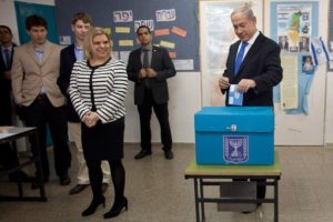 Netanyahu Casts His Vote In Israel's General Election!