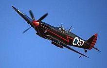 Black Spit Fire - Israeli Fighter plane flown by Machalnicks
