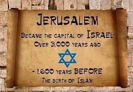 Israeli Professor silences Arab world on Jerusalem status