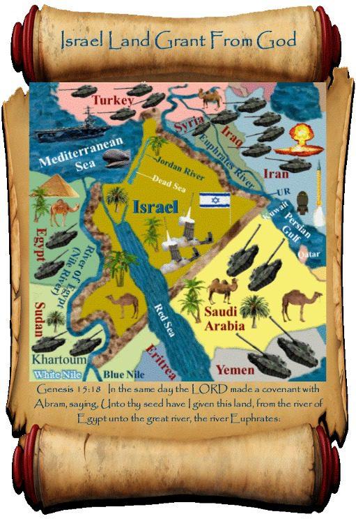 Israel Land Grant From God- Summary